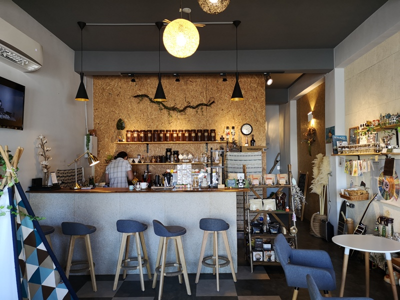 habitat04 竹東-Habitat Cafe 棲息地自烘精品咖啡 小帳棚好搭配