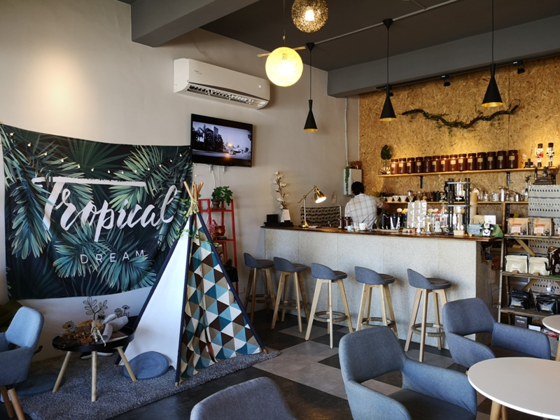 habitat06 竹東-Habitat Cafe 棲息地自烘精品咖啡 小帳棚好搭配