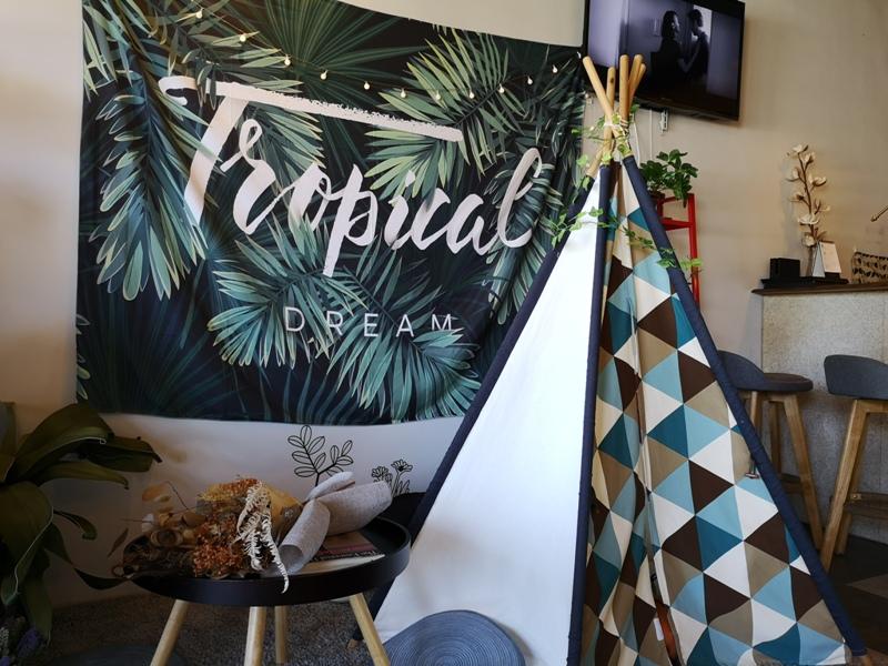 habitat08 竹東-Habitat Cafe 棲息地自烘精品咖啡 小帳棚好搭配