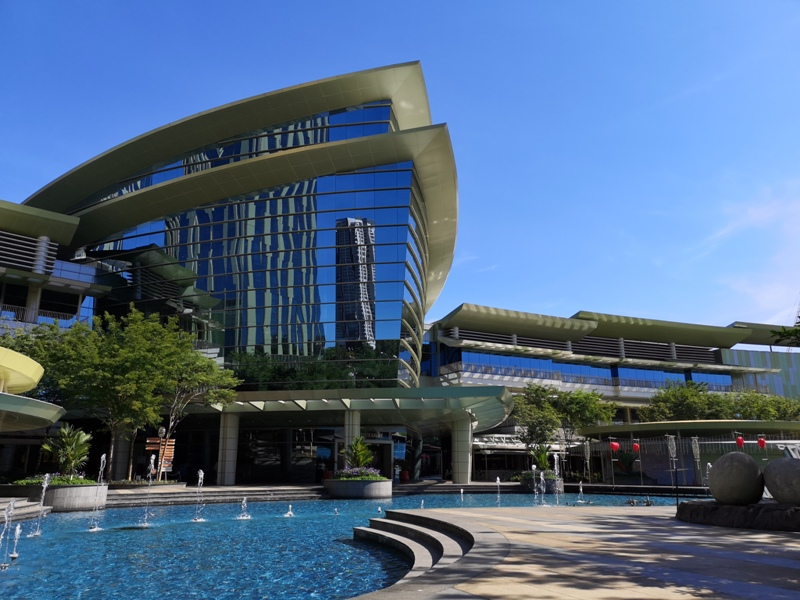 putrajayalemeridien23102 Putrajaya-Le Meridien經典艾美風格 但除購物中心外...還真沒啥...