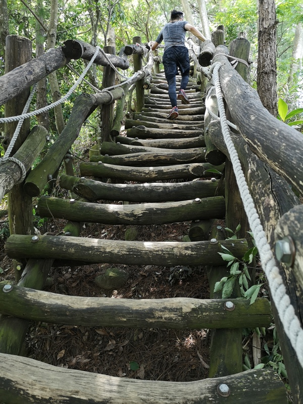 dakenno401 北屯-大坑步道4號 挑戰軟腳坡的起伏上下