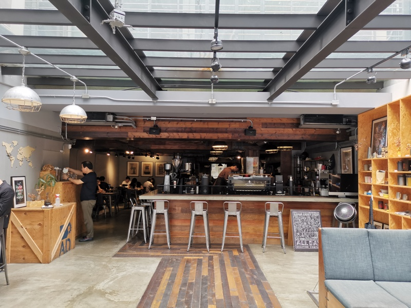 alldaycoffee8_1333402 松山-All Day Roasting Company帶著工業風的咖啡名店 坐落民生社區好清幽