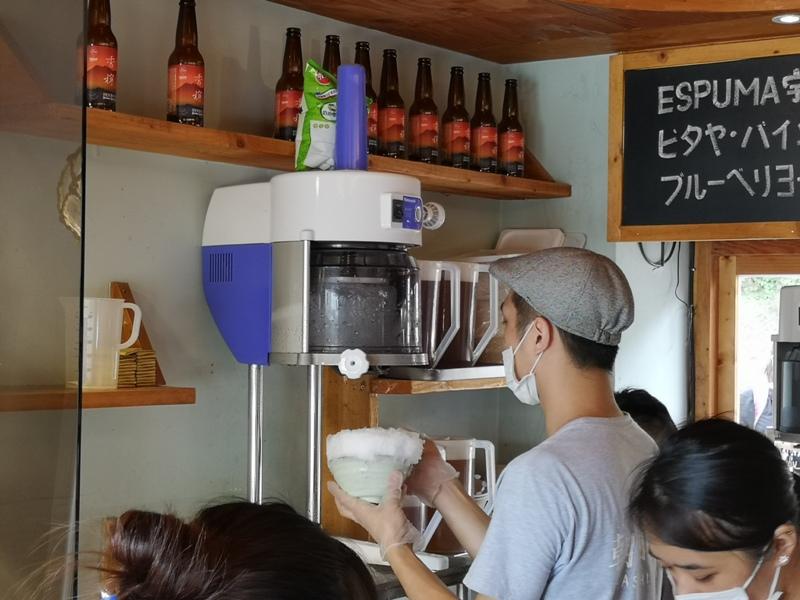 asahi14 淡水-朝日夫婦 淡水河畔 眺望觀音山美景的一碗沖繩冰品...涼爽