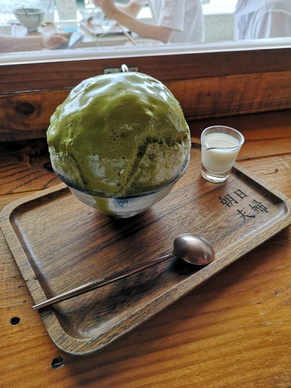 asahi17 淡水-朝日夫婦 淡水河畔 眺望觀音山美景的一碗沖繩冰品...涼爽