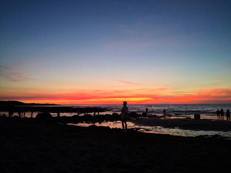 bossanovaa26 三芝-美的不像話的淺水灣夕陽...吃吃有異國情調的巴莎諾瓦Bossa Nova