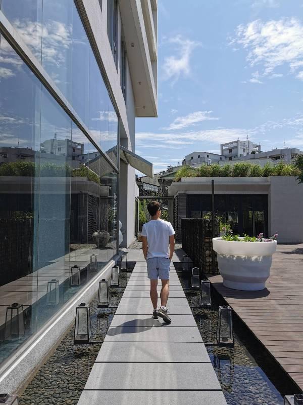 hotelday04 嘉義-桃城茶樣子 最美的飯店 最狼狽的泳池照