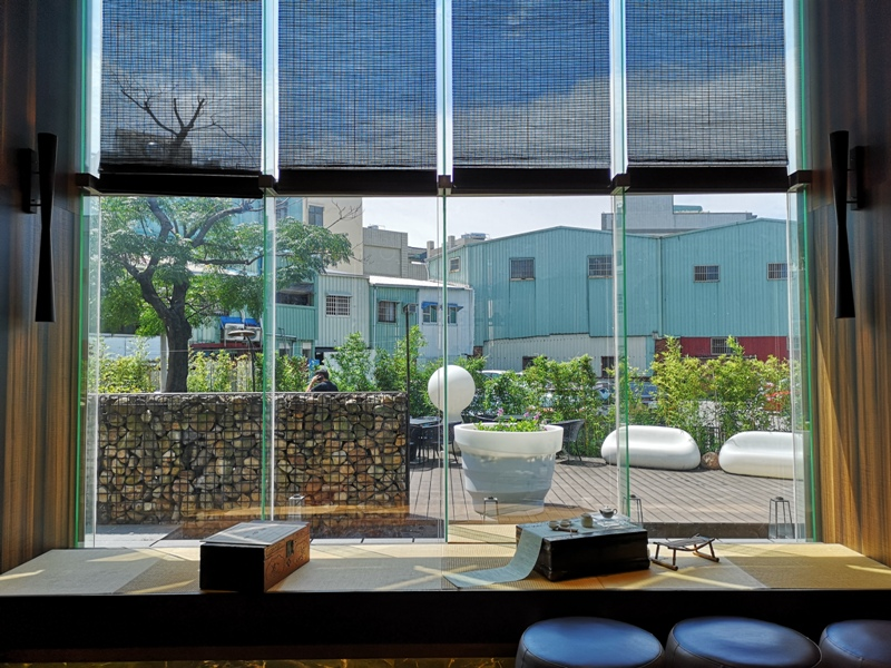 hotelday11 嘉義-桃城茶樣子 最美的飯店 最狼狽的泳池照