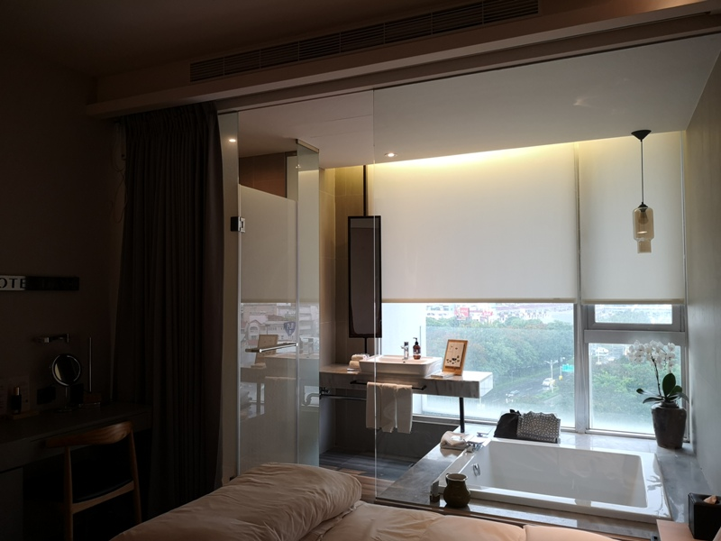 hotelday20 嘉義-桃城茶樣子 最美的飯店 最狼狽的泳池照