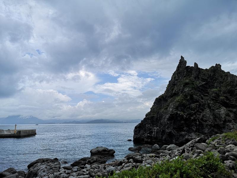 keelungisle07 基隆-首登基隆嶼 攀上最高峰 基隆外海孤獨的存在