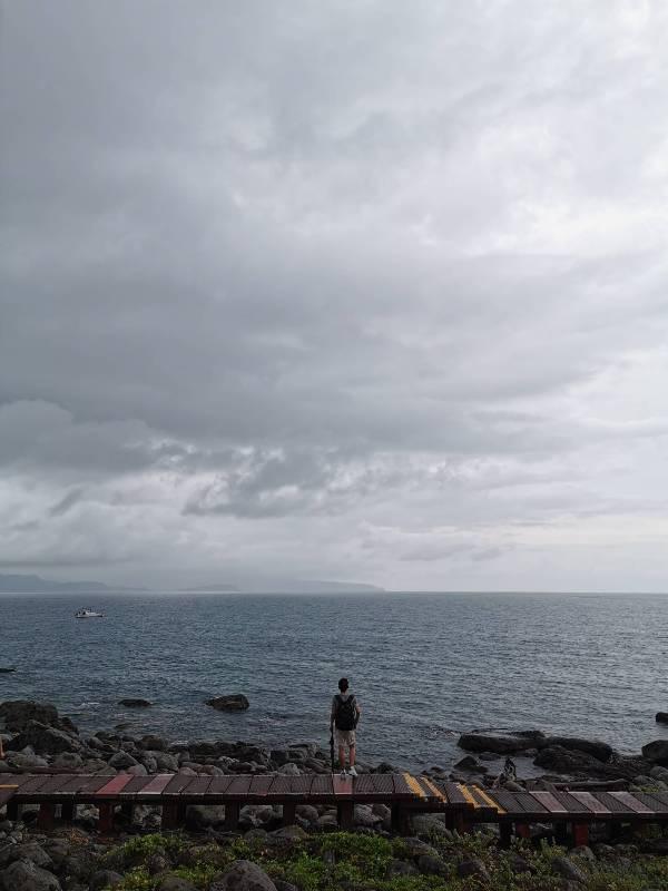 keelungisle14 基隆-首登基隆嶼 攀上最高峰 基隆外海孤獨的存在