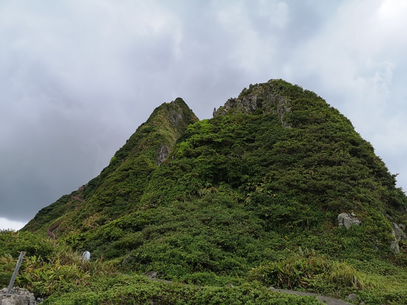 keelungisle15 基隆-首登基隆嶼 攀上最高峰 基隆外海孤獨的存在