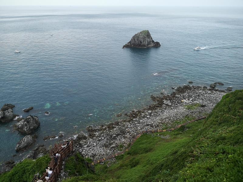keelungisle20 基隆-首登基隆嶼 攀上最高峰 基隆外海孤獨的存在