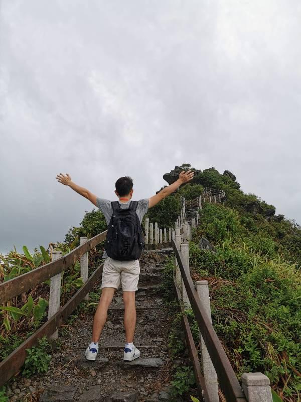 keelungisle26 基隆-首登基隆嶼 攀上最高峰 基隆外海孤獨的存在