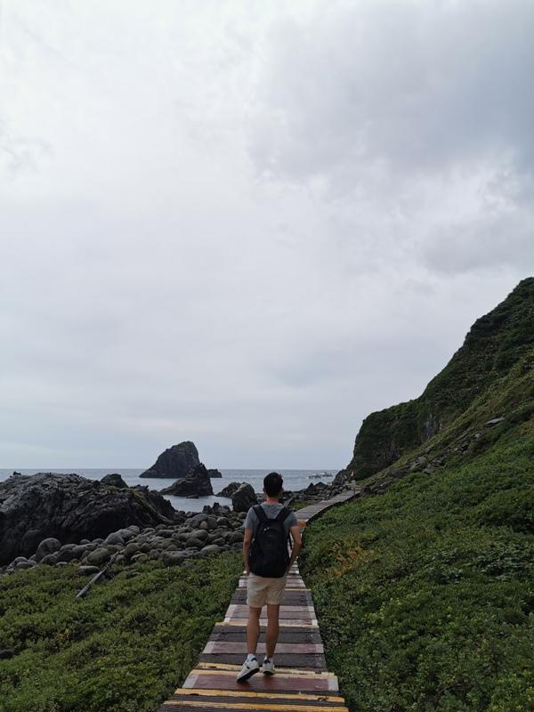 keelungisle36 基隆-首登基隆嶼 攀上最高峰 基隆外海孤獨的存在