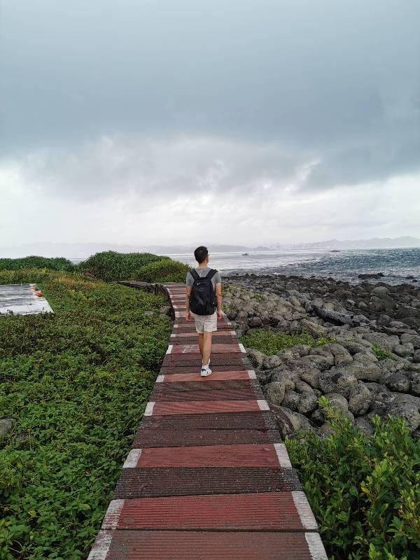 keelungisle39 基隆-首登基隆嶼 攀上最高峰 基隆外海孤獨的存在