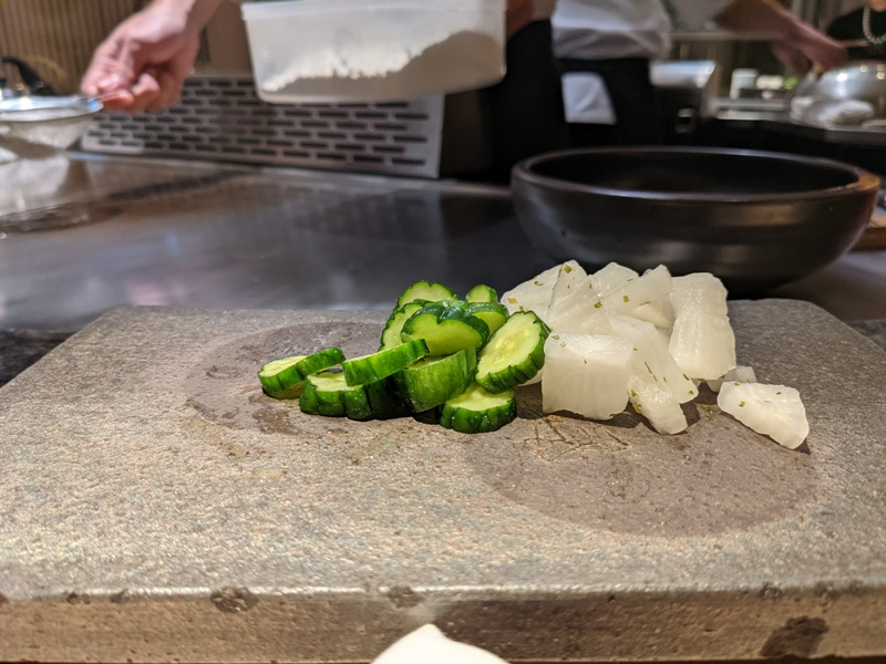 chuyu02 信義-初魚鐵板燒初訪 好吃好吃...意外的帝王蟹太吸睛