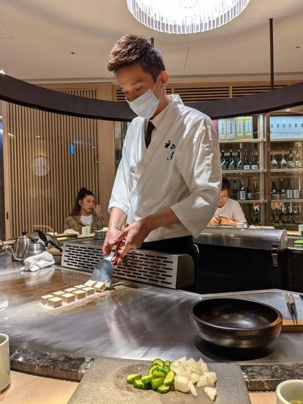 chuyu03-rotated-e1603809562946 信義-初魚鐵板燒初訪 好吃好吃...意外的帝王蟹太吸睛