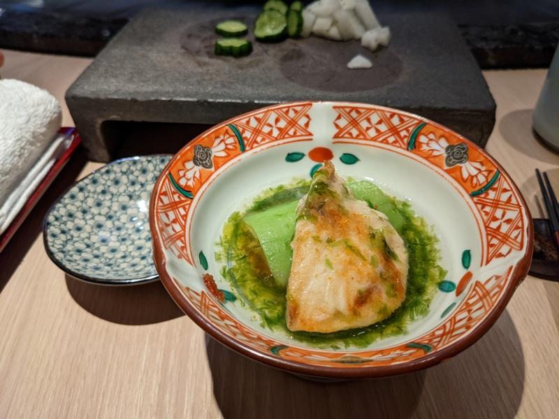chuyu07 信義-初魚鐵板燒初訪 好吃好吃...意外的帝王蟹太吸睛
