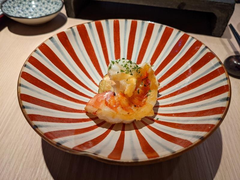 chuyu10 信義-初魚鐵板燒初訪 好吃好吃...意外的帝王蟹太吸睛