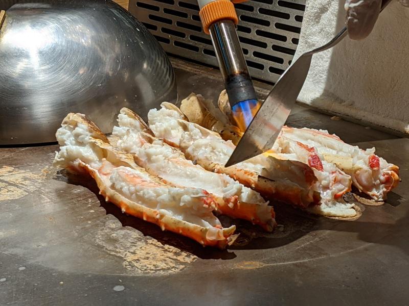 chuyu22 信義-初魚鐵板燒初訪 好吃好吃...意外的帝王蟹太吸睛