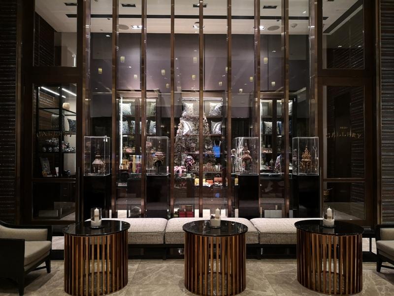 surawongselobby05 Bangkok-曼谷Marriott Hotel The Surawongse太超值...完美住宿大套房網美游池