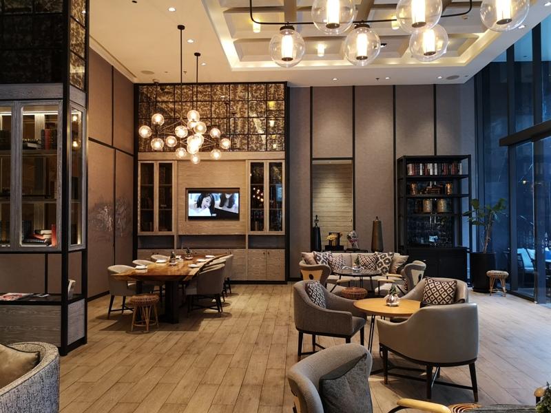 surawongselobby07 Bangkok-曼谷Marriott Hotel The Surawongse太超值...完美住宿大套房網美游池