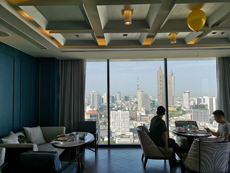 surawongselounge07 Bangkok-曼谷Marriott Hotel The Surawongse太超值...完美住宿大套房網美游池