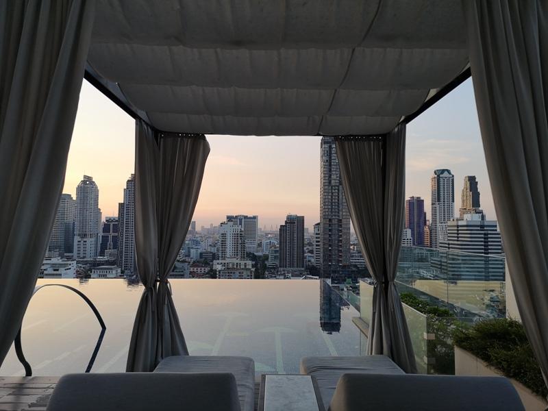 surawongsepool0104 Bangkok-曼谷Marriott Hotel The Surawongse太超值...完美住宿大套房網美游池