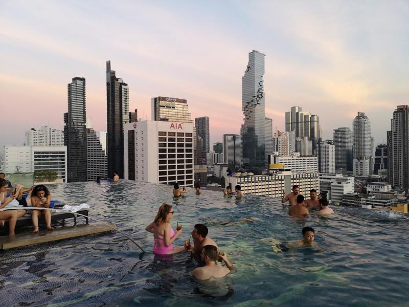surawongsepool0109 Bangkok-曼谷Marriott Hotel The Surawongse太超值...完美住宿大套房網美游池