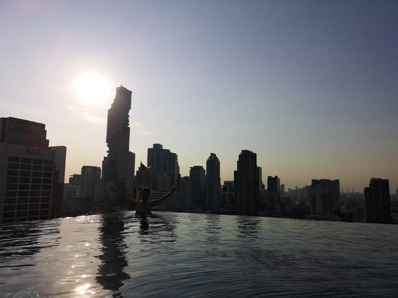 surawongsepool0116 Bangkok-曼谷Marriott Hotel The Surawongse太超值...完美住宿大套房網美游池