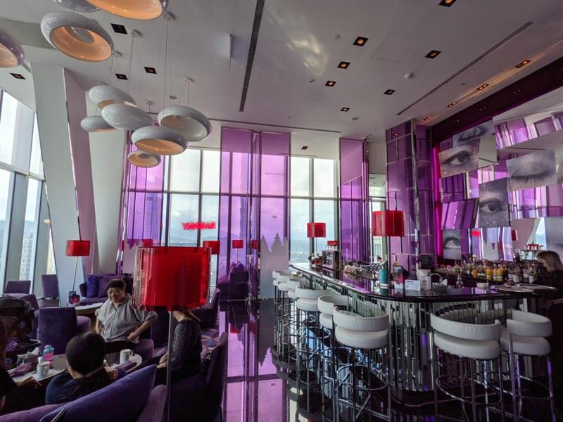 yenbar03 信義-Yen Bar給你最棒景色的下午茶在W Hotel