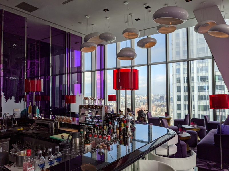 yenbar04 信義-Yen Bar給你最棒景色的下午茶在W Hotel