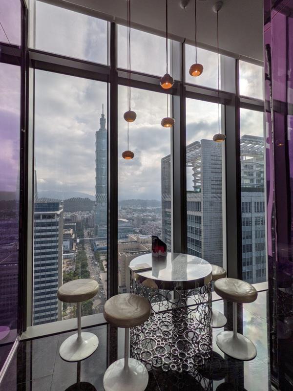 yenbar10 信義-Yen Bar給你最棒景色的下午茶在W Hotel