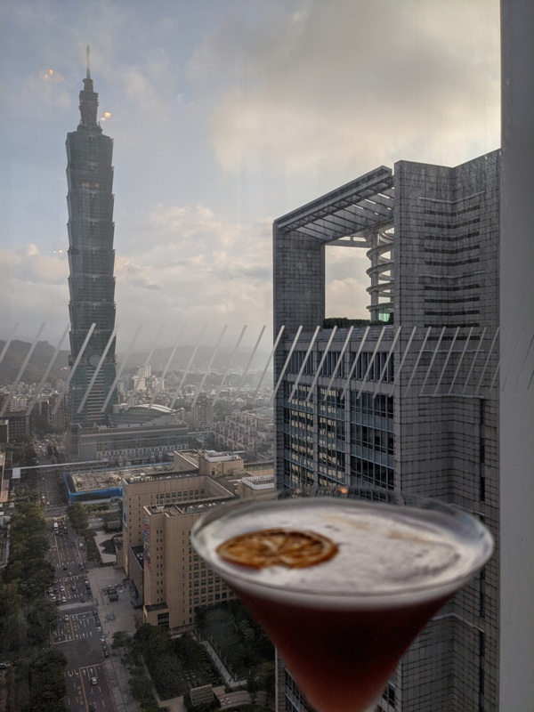 yenbar16 信義-Yen Bar給你最棒景色的下午茶在W Hotel