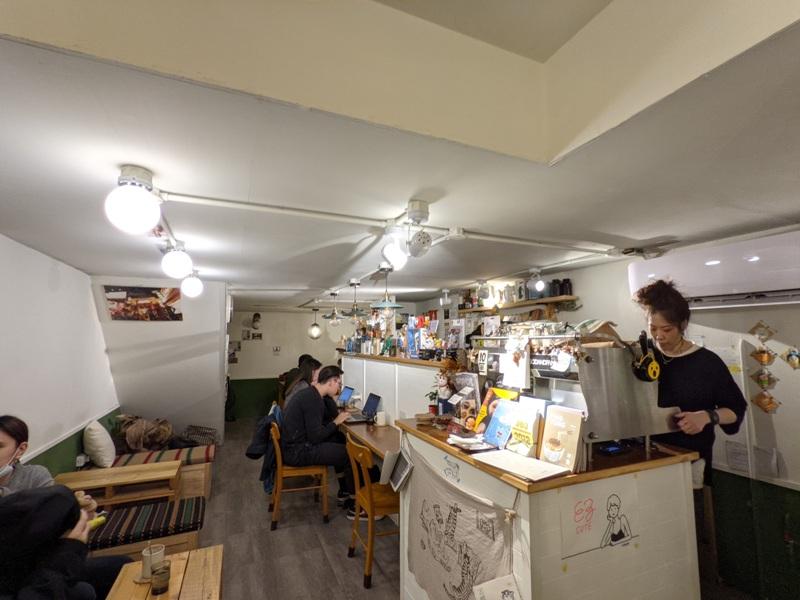 dwaco10 大安-永康街靜巷內的溫暖小店 不胖不胖的月半咖啡