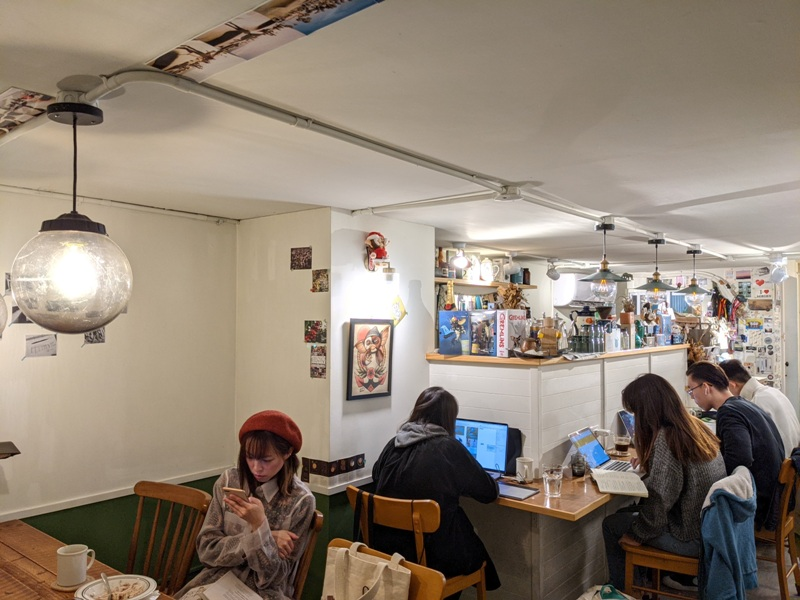 dwaco11 大安-永康街靜巷內的溫暖小店 不胖不胖的月半咖啡