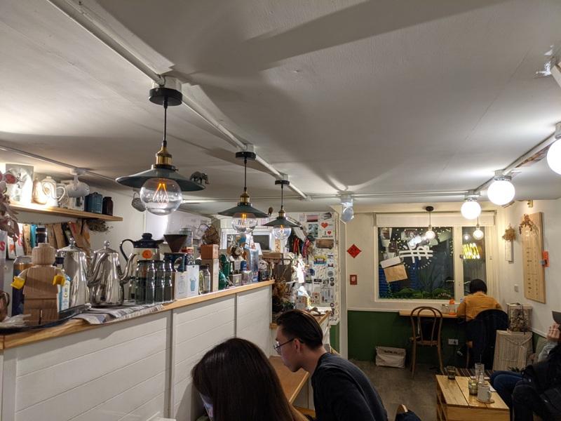 dwaco12 大安-永康街靜巷內的溫暖小店 不胖不胖的月半咖啡