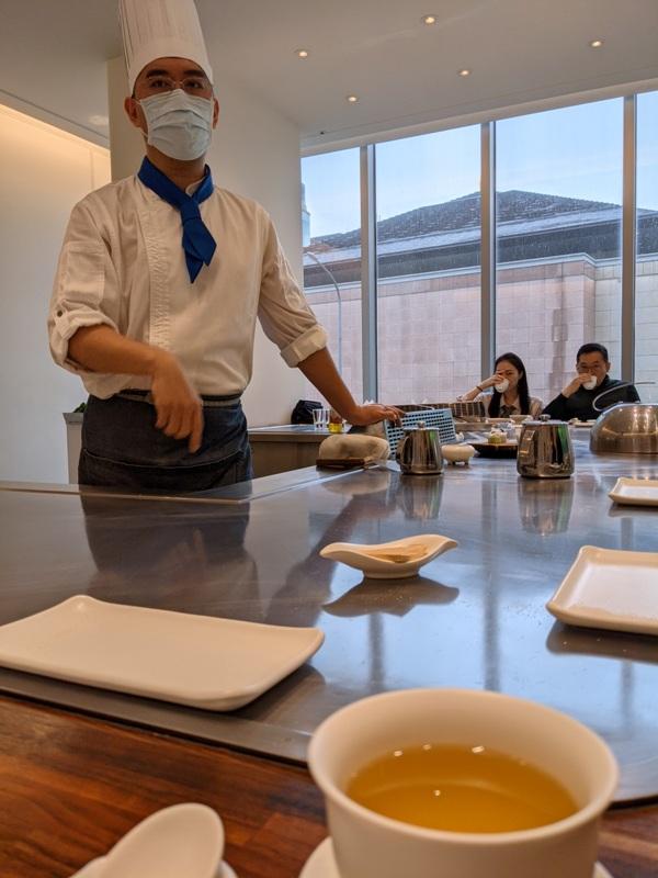 ironchef04 內湖-鐵板教父 精緻好吃養生的鐵板燒 米其林餐盤推薦