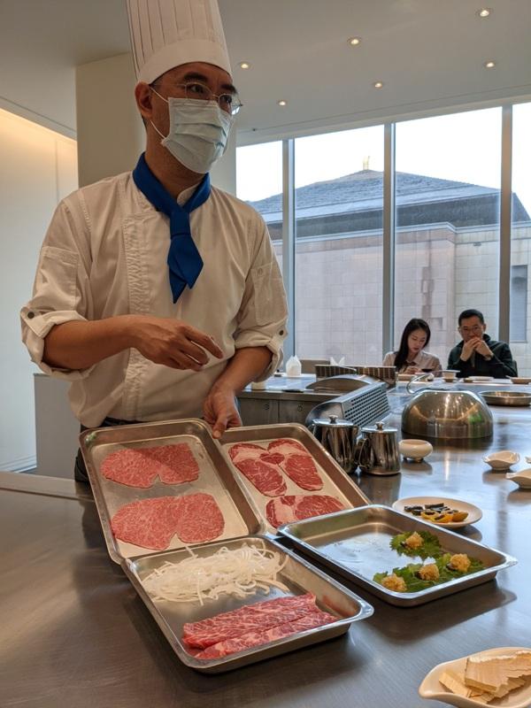 ironchef12 內湖-鐵板教父 精緻好吃養生的鐵板燒 米其林餐盤推薦