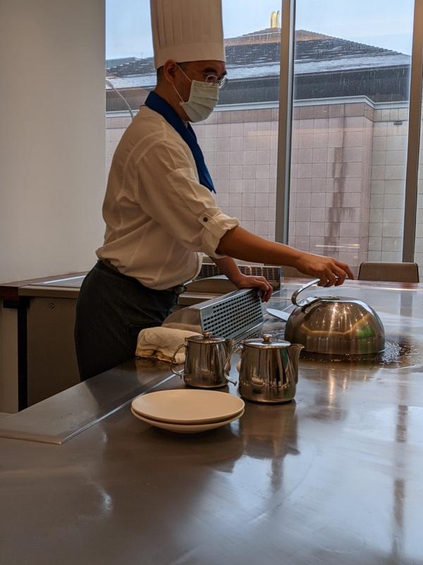 ironchef22 內湖-鐵板教父 精緻好吃養生的鐵板燒 米其林餐盤推薦