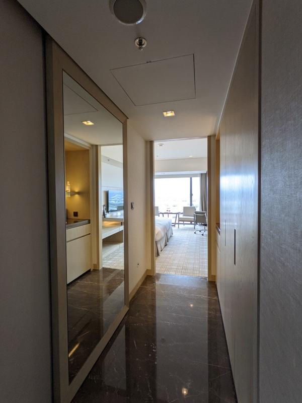 marriotttaipei5108 中山-台北萬豪 眺望松山機場與101 不夠大器的五星酒店