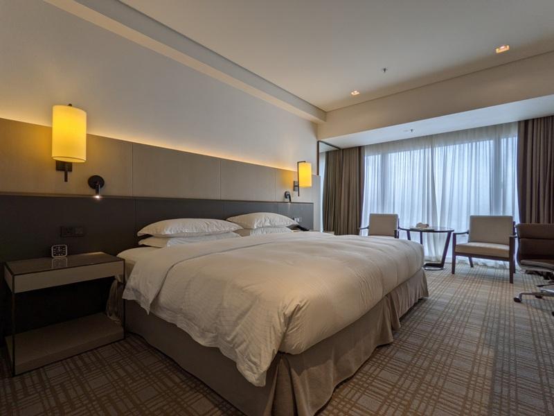 marriotttaipei5109 中山-台北萬豪 眺望松山機場與101 不夠大器的五星酒店