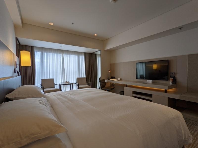 marriotttaipei5111 中山-台北萬豪 眺望松山機場與101 不夠大器的五星酒店