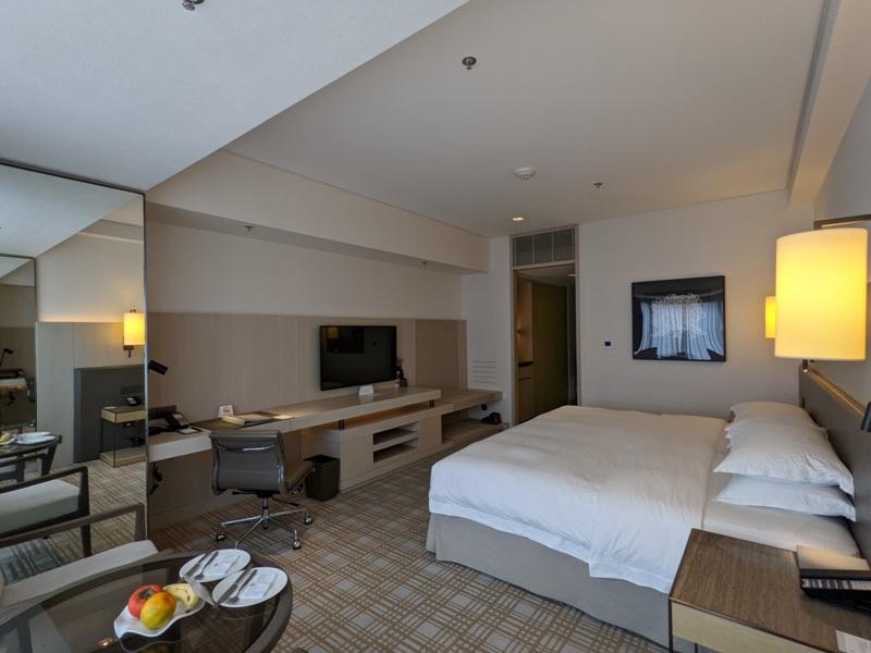 marriotttaipei5113 中山-台北萬豪 眺望松山機場與101 不夠大器的五星酒店