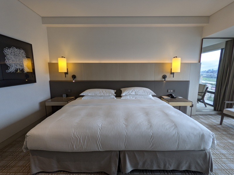 marriotttaipei5115 中山-台北萬豪 眺望松山機場與101 不夠大器的五星酒店