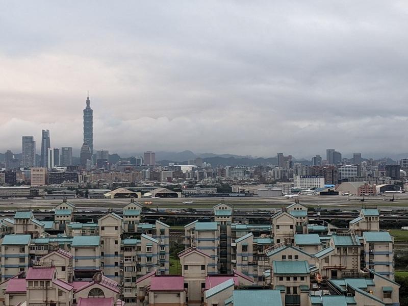marriotttaipei5130 中山-台北萬豪 眺望松山機場與101 不夠大器的五星酒店