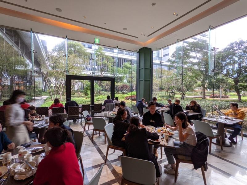 marriotttaipei5137 中山-台北萬豪 眺望松山機場與101 不夠大器的五星酒店