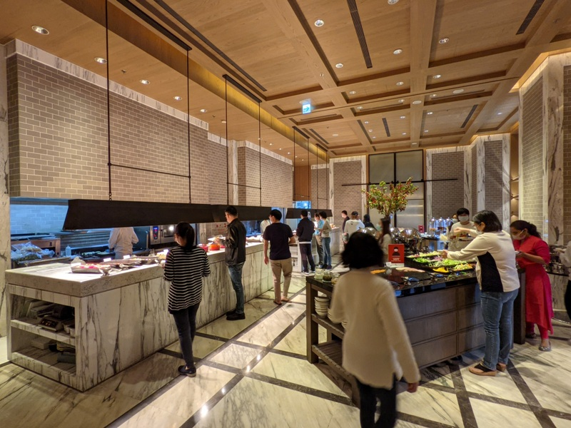 marriotttaipei5138 中山-台北萬豪 眺望松山機場與101 不夠大器的五星酒店