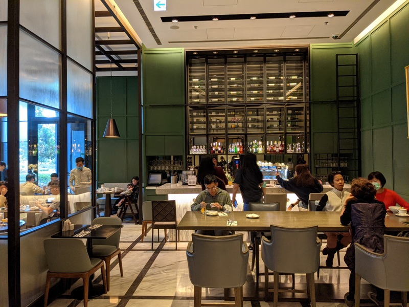 marriotttaipei5139 中山-台北萬豪 眺望松山機場與101 不夠大器的五星酒店