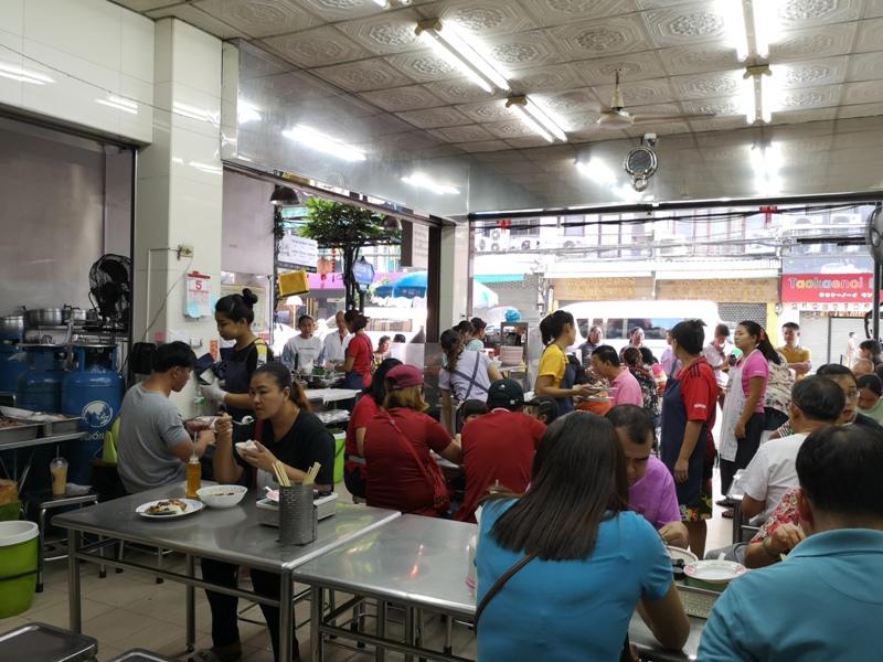 NaiEk05 Bangkok-陳億粿條店Nai Ek Roll Noodles 中國城的早餐名店 濃濃胡椒香 食材豐富CP值高的小吃